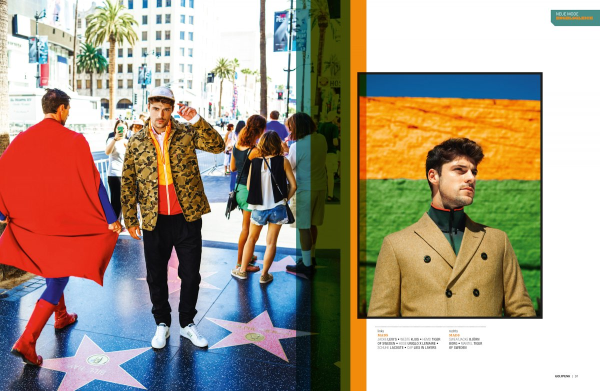 Hollywood Editorial, Golf Punk Magazin